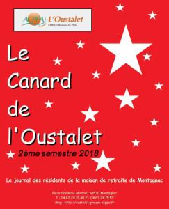 canard oustalet 2eme semestre 2018