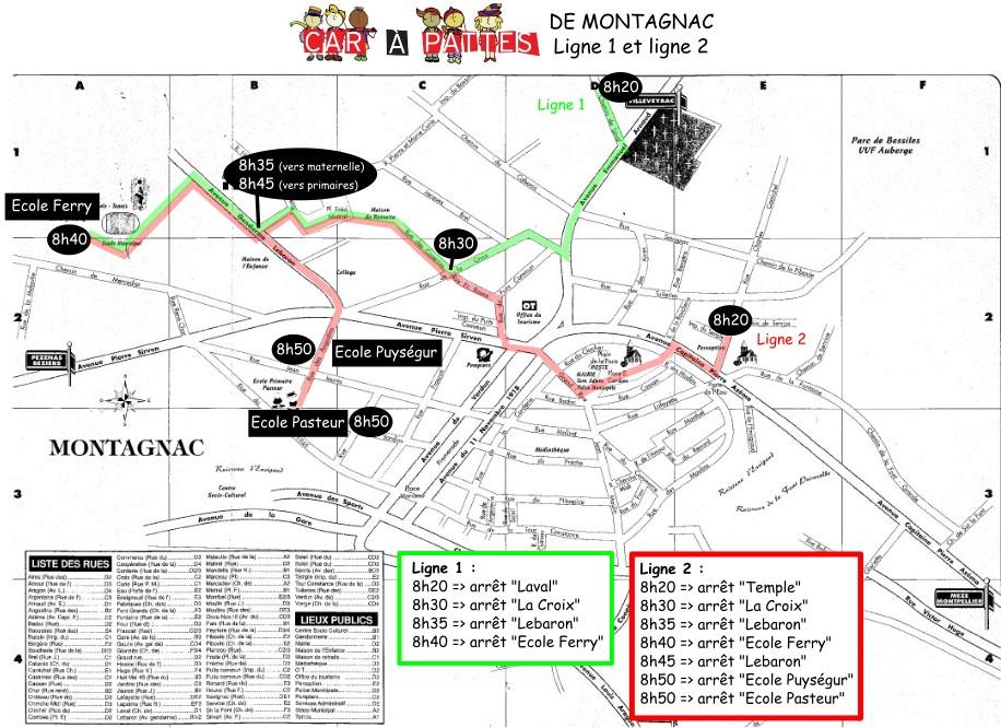 2015.11.16 - Carte itinéraires Carapattes