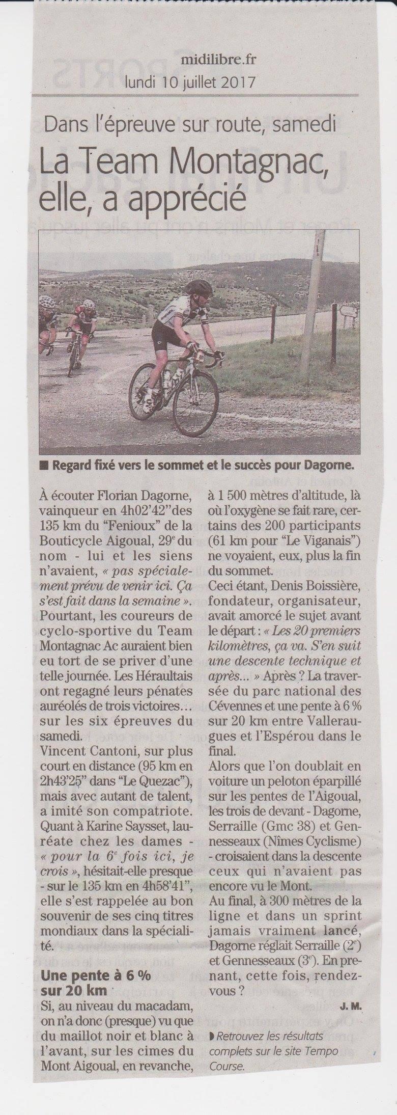 midi libre cycl'aigoual_2017