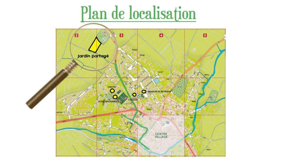Plan de localisation ortada