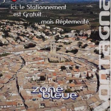 Disque «Zone Bleue»