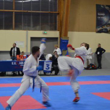 Karaté : Championnat Kata et Combat