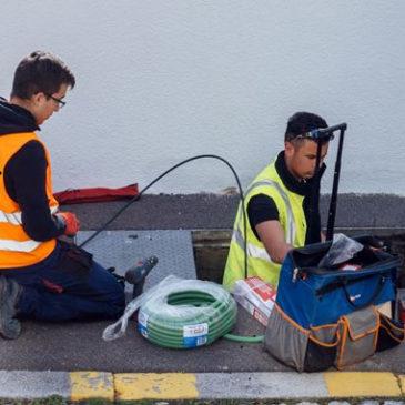 Déploiement de la fibre optique sur Montagnac