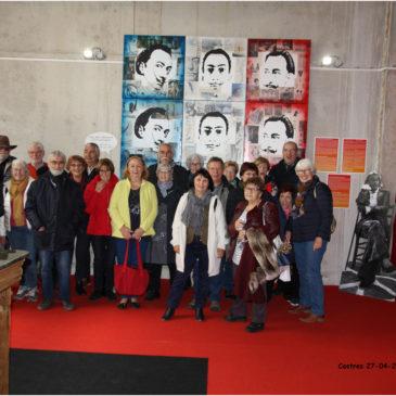 La Casa de España en visite chez Dali à Castres