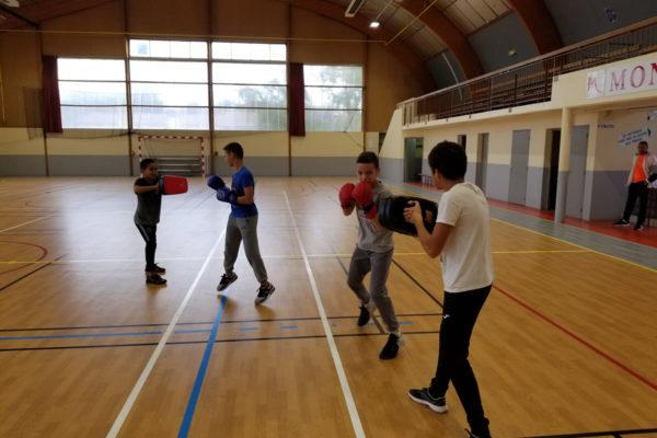 boxe anglaise + jeunes