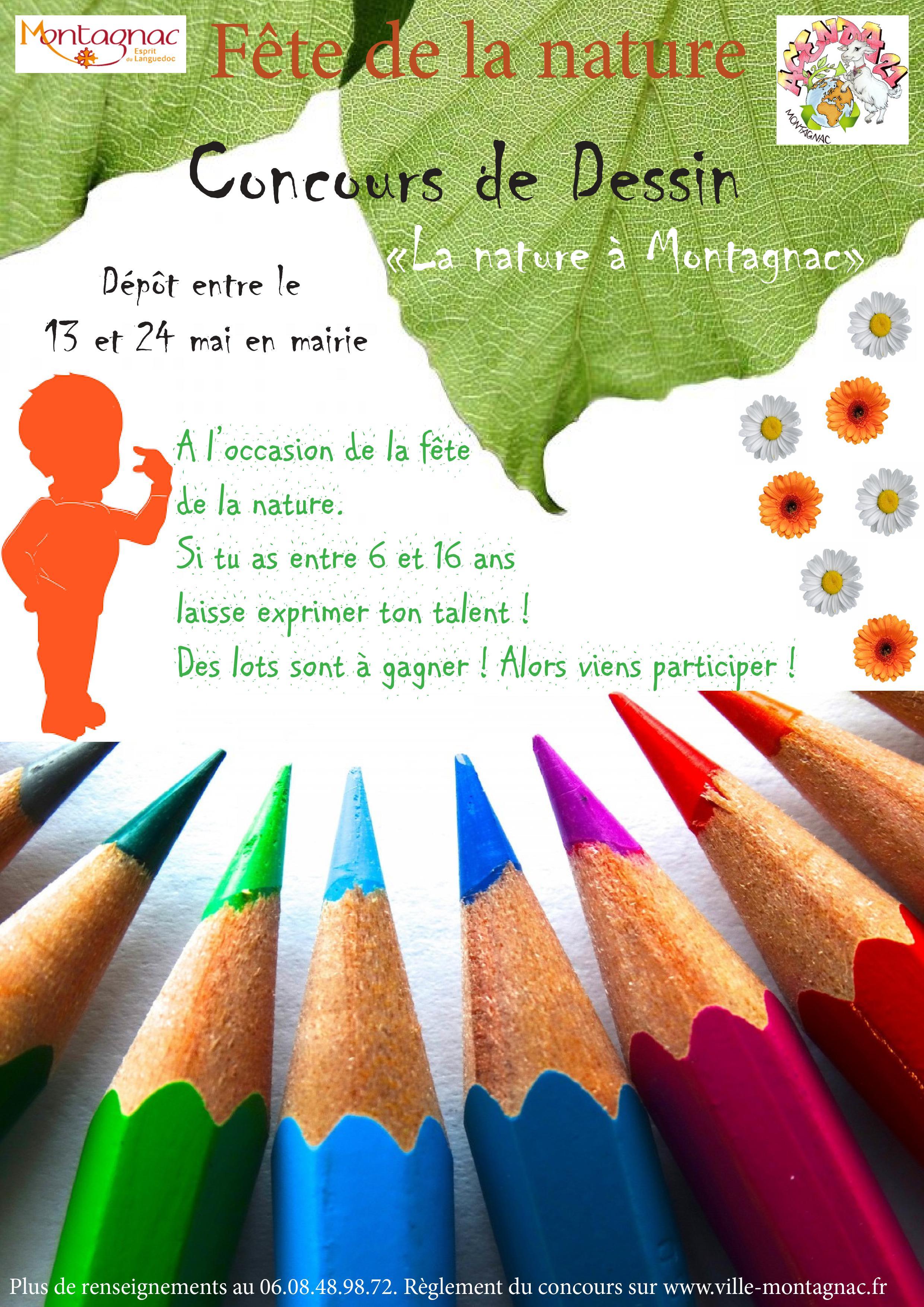 Fete De La Nature Concours De Dessin Et Photographie Ville De Montagnac