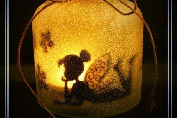 Veilleuse bocal LED